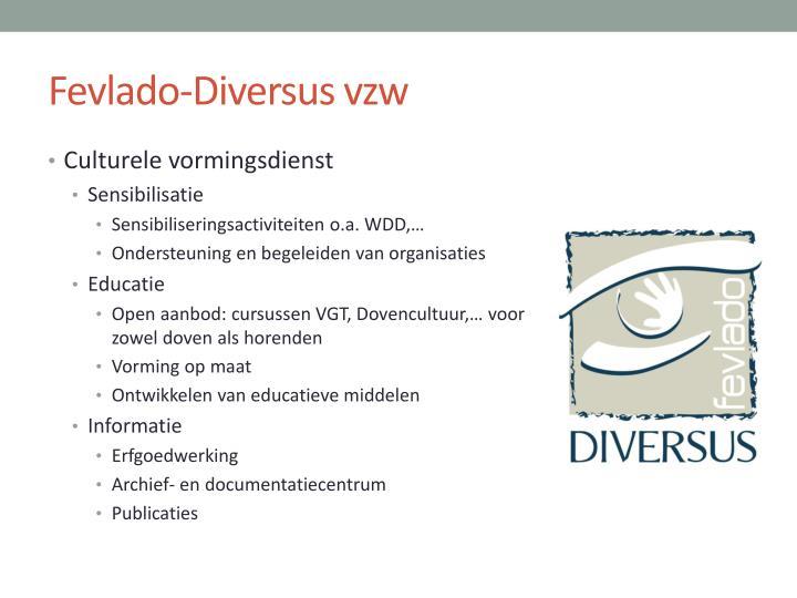 Fevlado-Diversus vzw