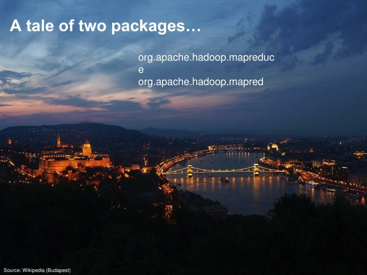 A tale of two packages…
