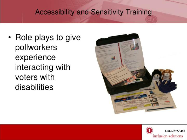 Accessibility and Sensitivity Training