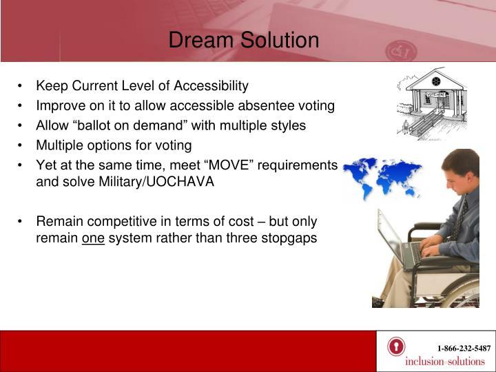 Dream Solution