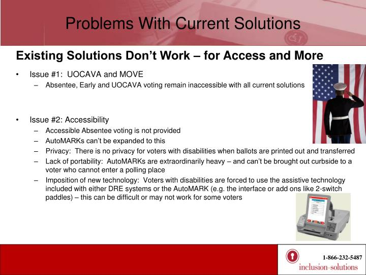 Problems With Current Solutions