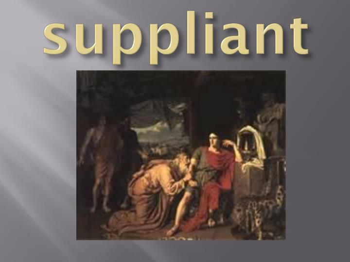 suppliant