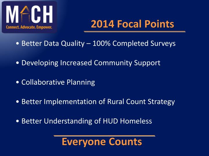 2014 Focal Points