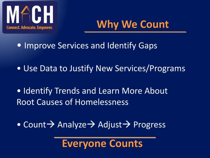 Why We Count
