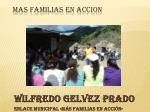 wilfredo gelvez prado enlace municipal m s familias en acci n
