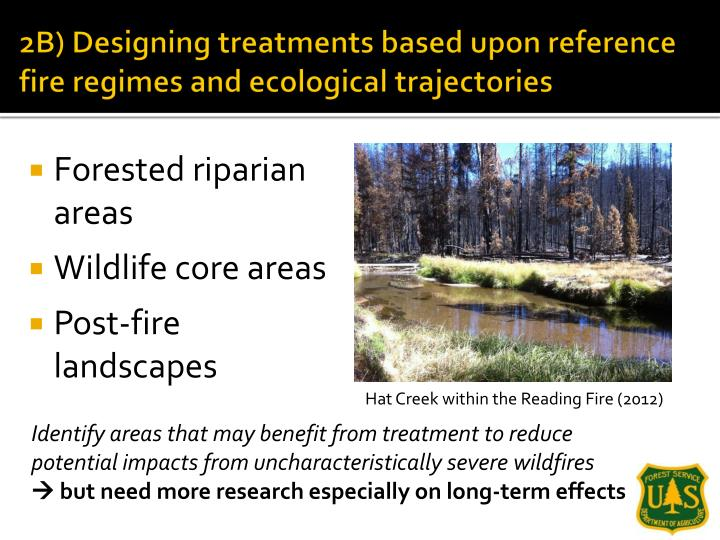 2B) Designing treatments based upon reference fire regimes and ecological trajectories