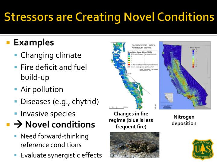 Stressors are Creating Novel Conditions