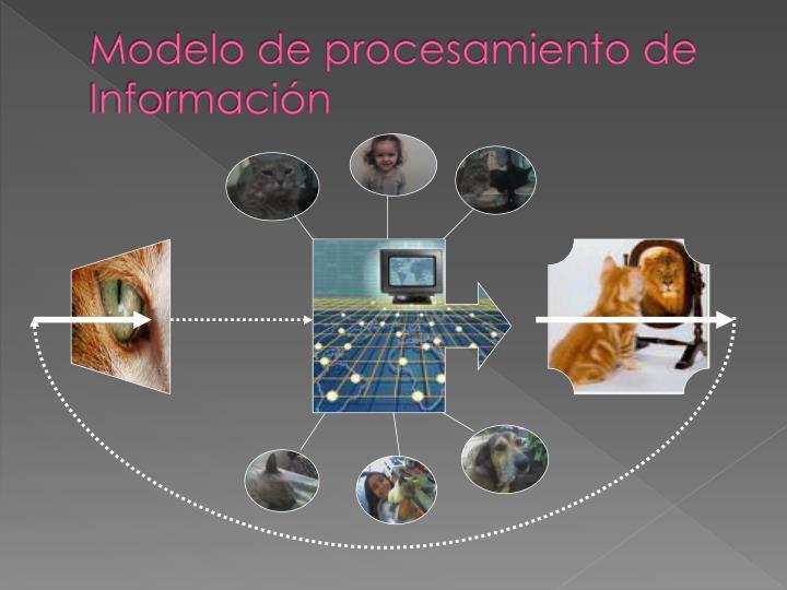 Modelo de procesamiento de informaci n