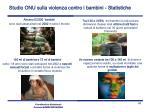 studio onu sulla violenza contro i bambini statistiche1