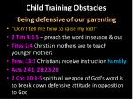 child training obstacles2