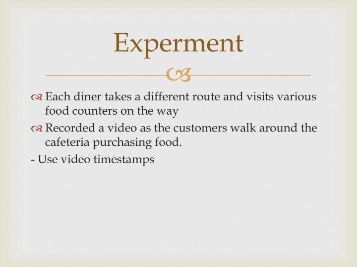 Experment