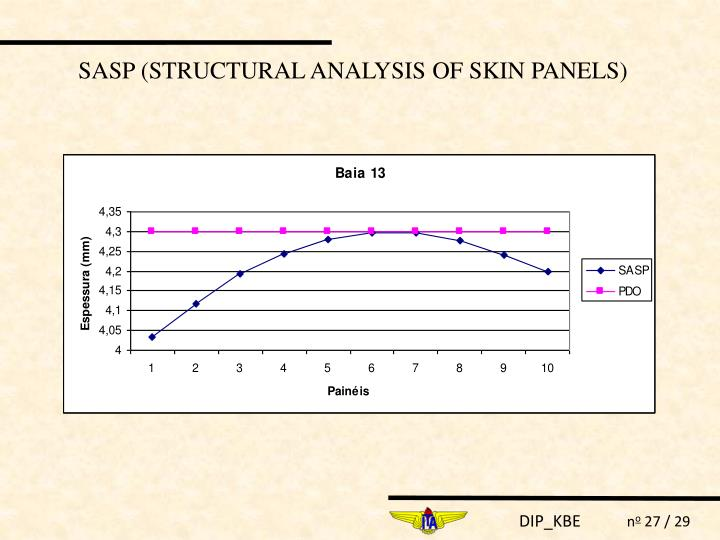 SASP (STRUCTURAL ANALYSIS OF SKIN PANELS)
