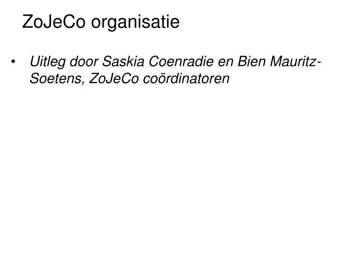 ZoJeCo organisatie