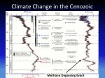 climate change in the cenozoic