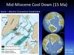 mid miocene cool down 15 ma