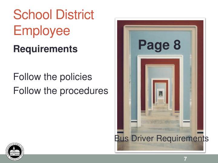 School District Employee