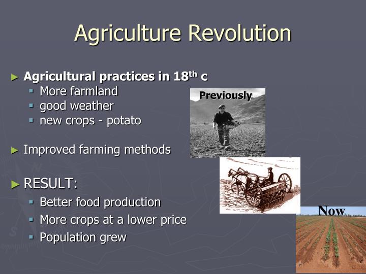 Agriculture revolution