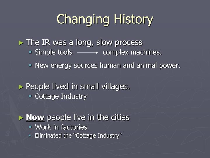 Changing History