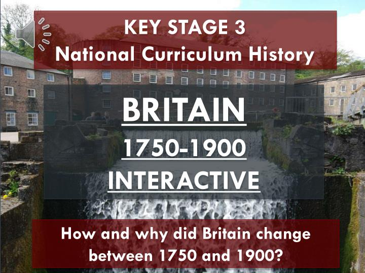 KEY STAGE 3                National Curriculum History