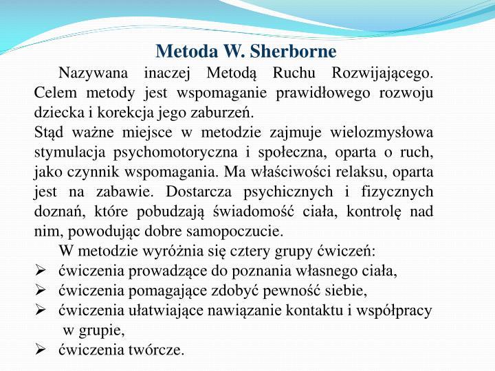 Metoda W.