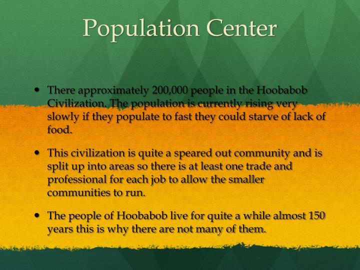 Population center