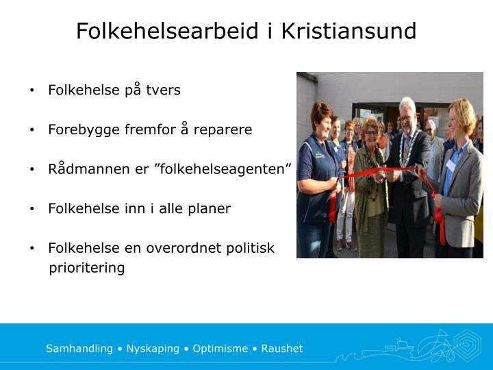 Folkehelsearbeid i Kristiansund