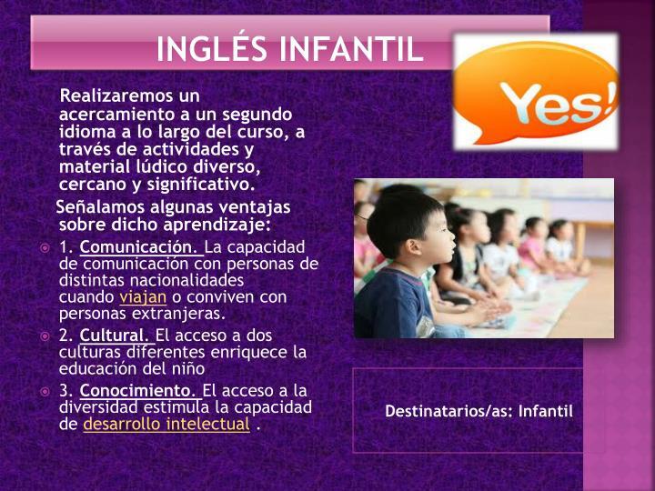 INGLÉS INFANTIL