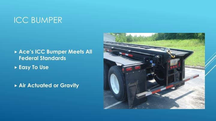 Ace's ICC Bumper Meets All Federal Standards