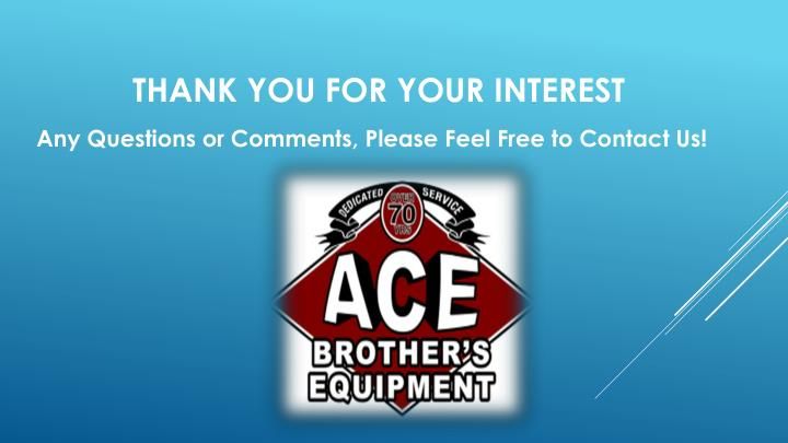 Any Questions or Comments, Please Feel Free to Contact Us!