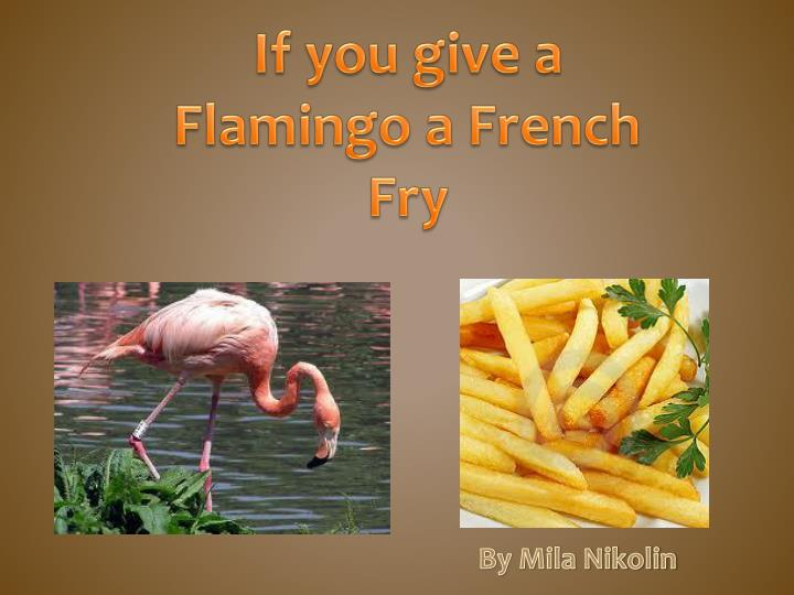 If you give a Flamingo a French