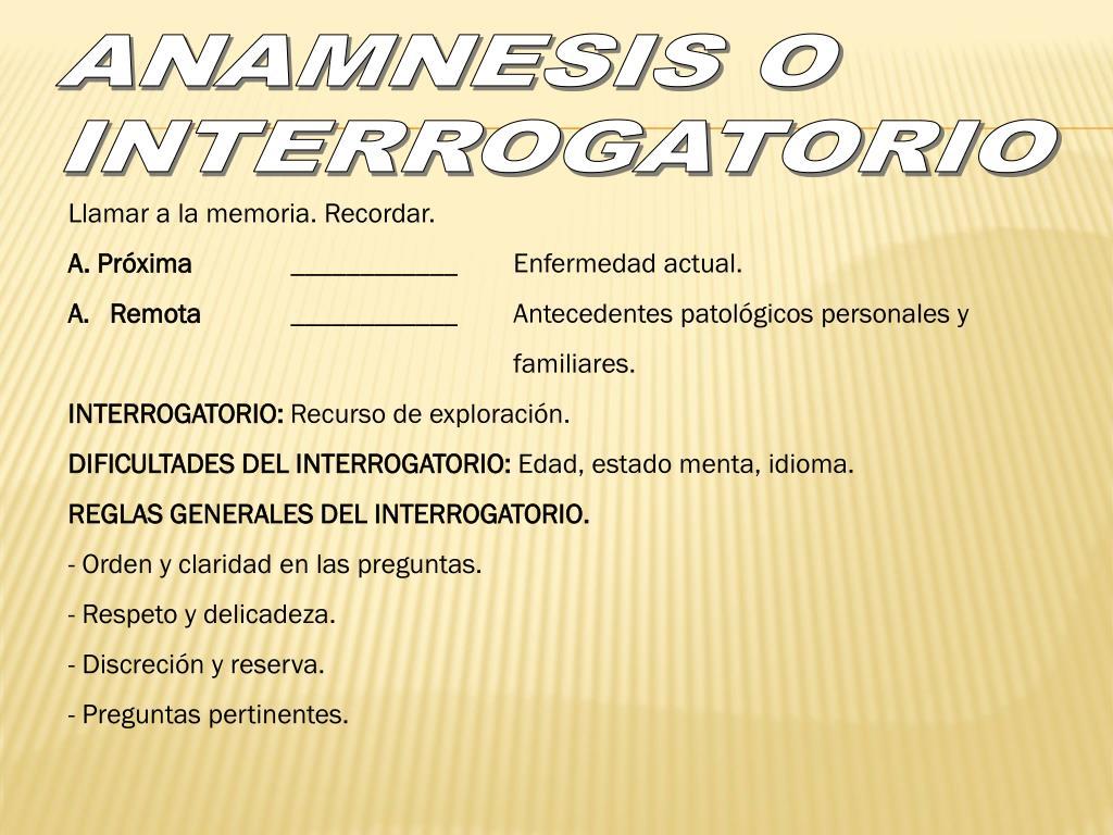 Ppt Semiologia Medica I Introduccion A La Semiologia Powerpoint Presentation Id 2047726