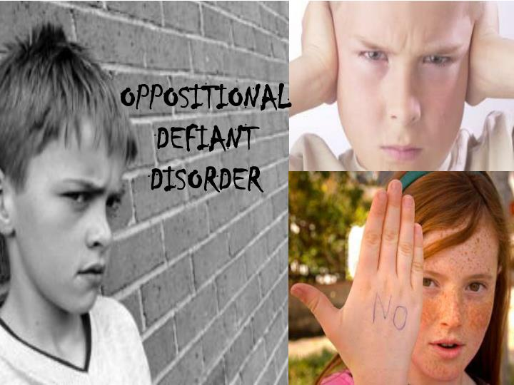 thesis statement for oppositional defiant disorder