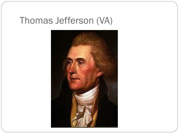 Thomas Jefferson (VA)