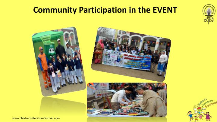 Community Participation in the EVENT