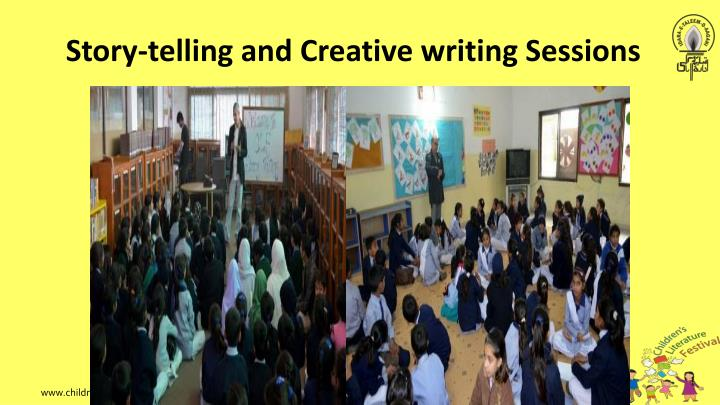 Story-telling and Creative writing Sessions