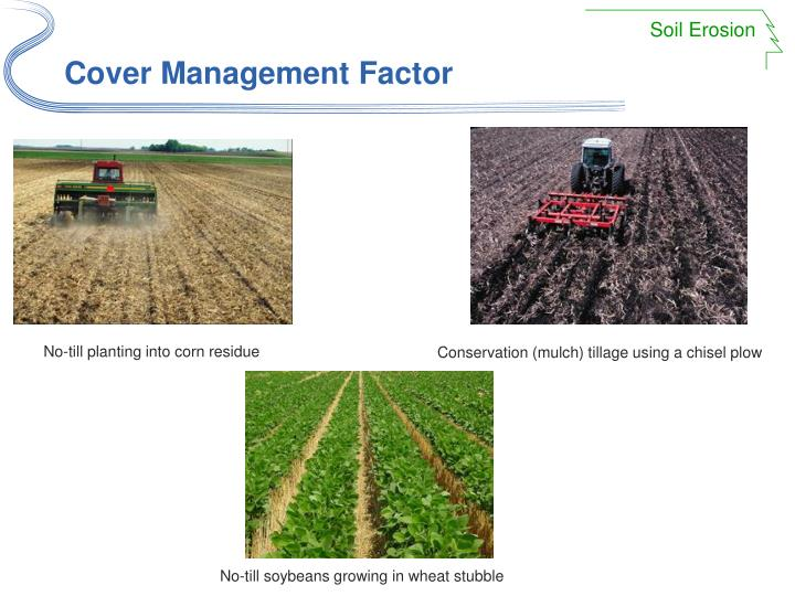 Cover Management Factor