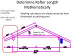 determine rafter length mathematically1