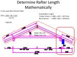 determine rafter length mathematically2