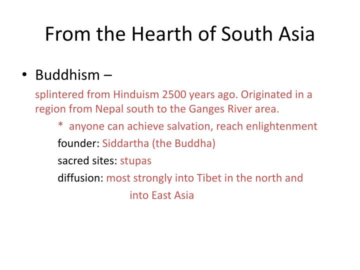 From the Hearth of South Asia