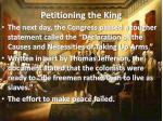 petitioning the king1