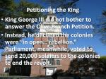 petitioning the king2