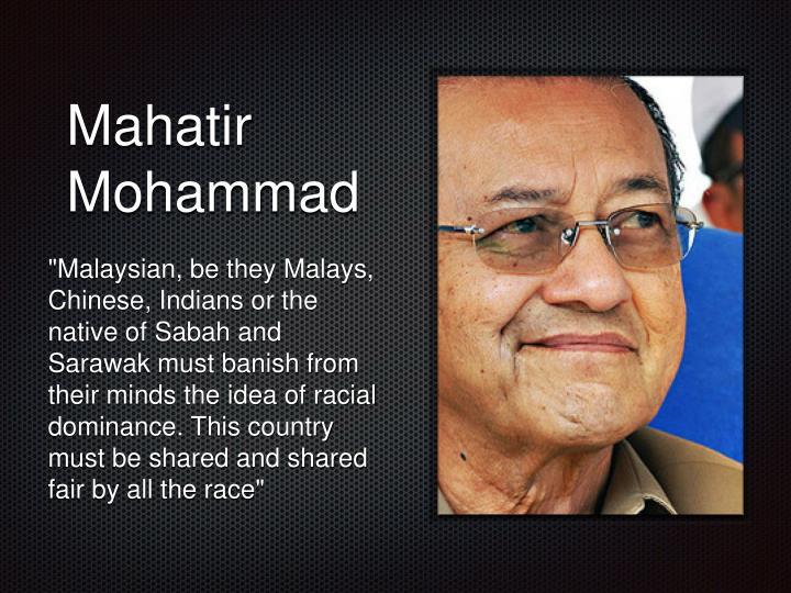 Mahatir Mohammad