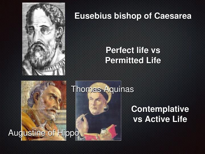 Eusebius bishop of Caesarea
