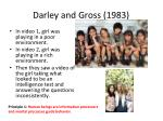 darley and gross 19831