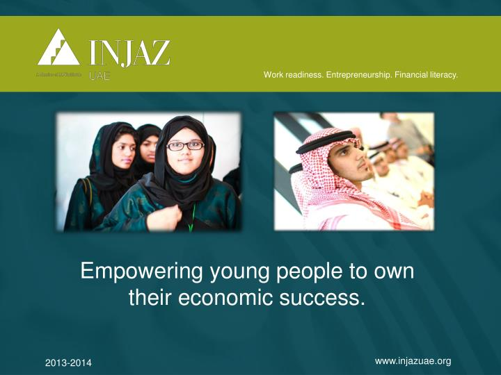 empowering young people to own their economic success n.