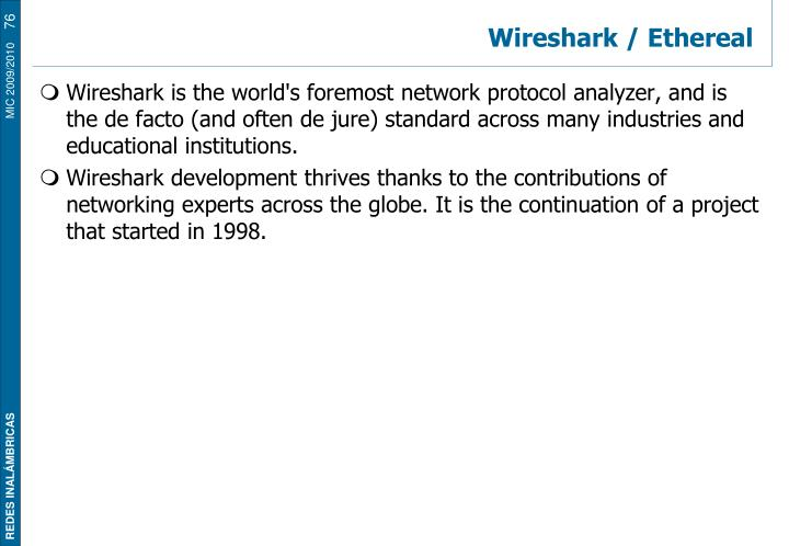 Wireshark / Ethereal