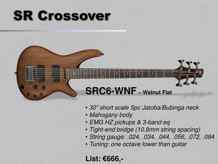 SR Crossover