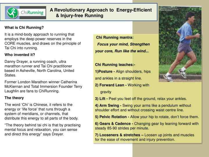 A Revolutionary Approach to  Energy-Efficient  & Injury-free Running