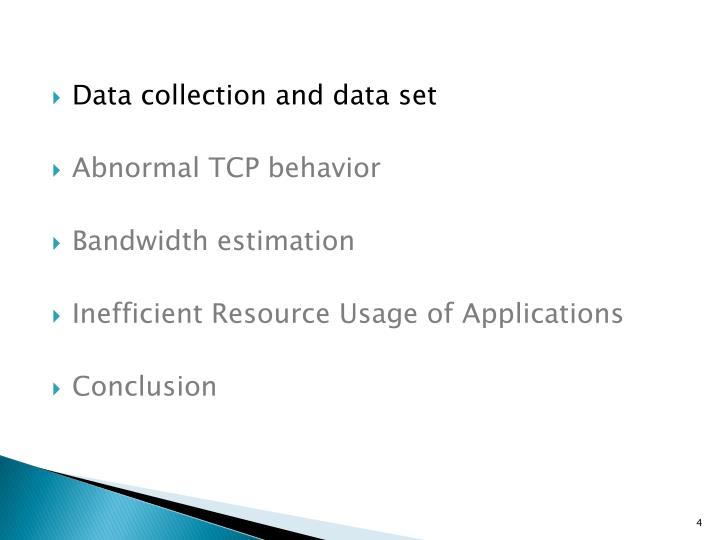 Data collection and data set