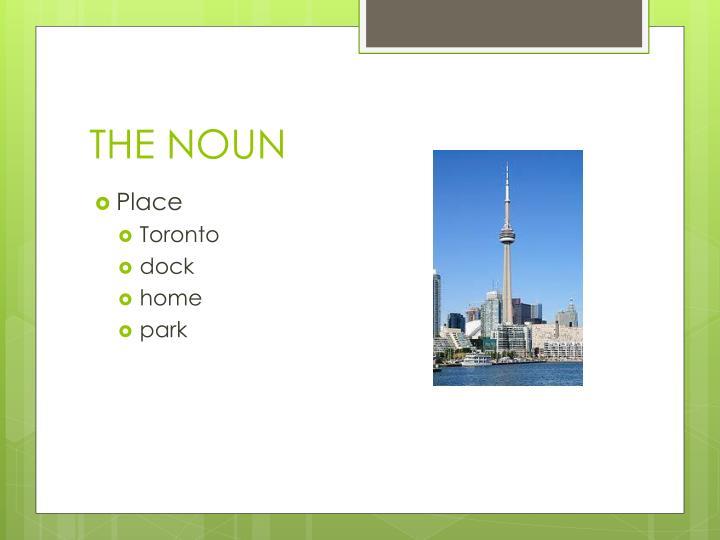 The noun1